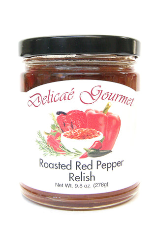 Delicae Gourmet Roasted Red Pepper Relish