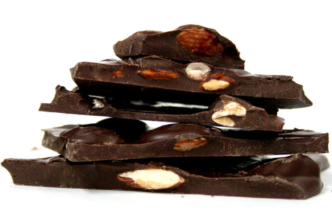 Dark Chocolate Bark with Almonds