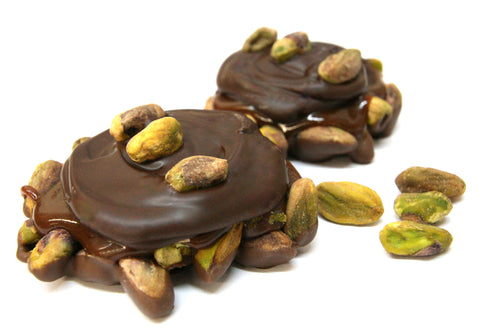 Dark Chocolate Pistachio Pralines