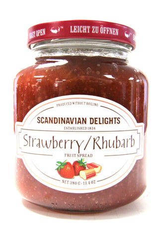 Elki Scandinavian Delights Strawberry Rhubarb Fruit Spread