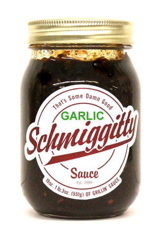 Schmiggitty Garlic Sauce