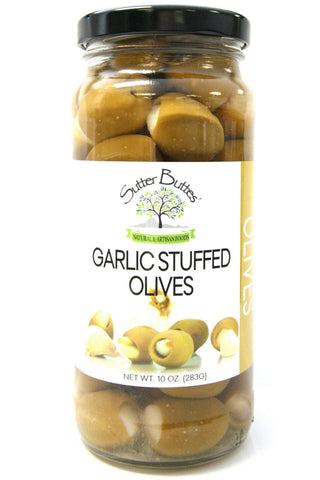 Sutter Buttes Garlic Stuffed Olives