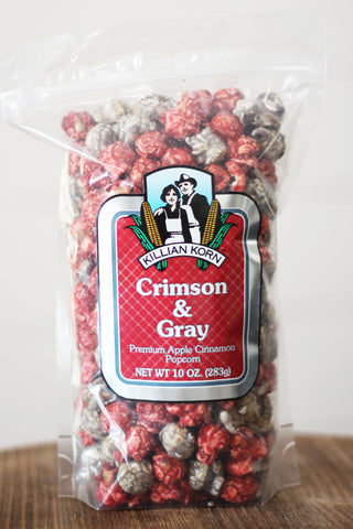 Killian Korn Crimson & Gray Premium Apple & Cinnamon popcorn