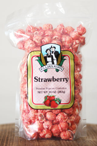 Killian Korn Strawberry Premium Popcorn Confection