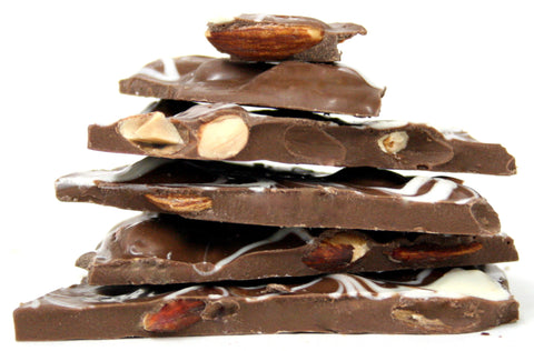 Milk Chocolate Bark with Almonds