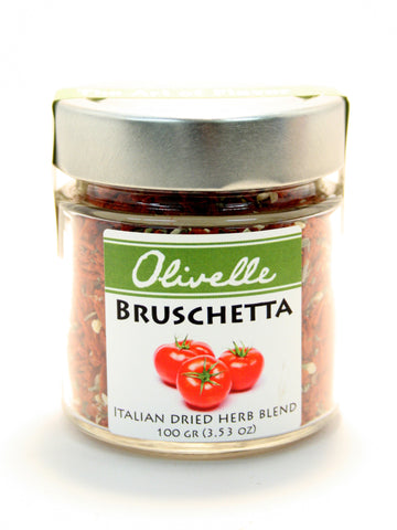 Olivelle Bruschetta Italian Dried Herb Blend - Net Wt. 3.53 oz.