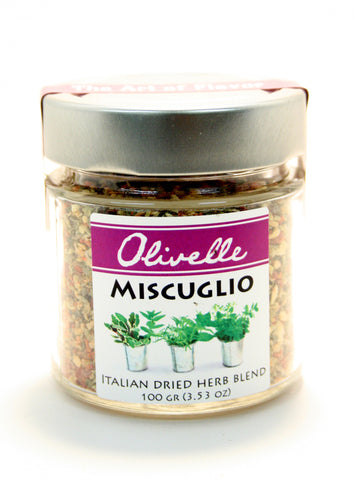 Olivelle Miscuglio Italian Dried Herb Blend - Net Wt. 3.53 oz.