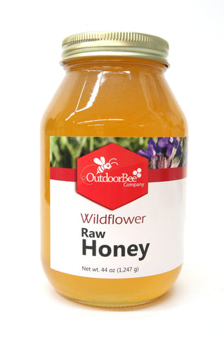 Outdoor Bee Company Wildflower Raw Honey 44 oz.