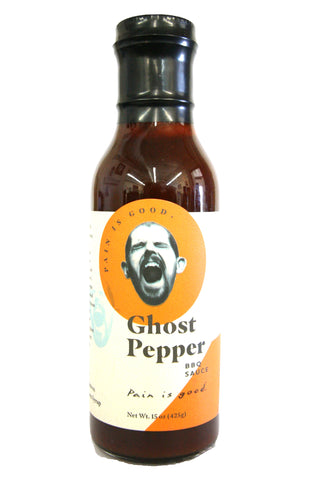 Original Juan Pain is Good Ghost Pepper BBQ Sauce
