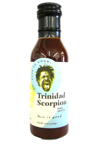 Original Juan Pain is Good Trinidad Scorpion BBQ Sauce