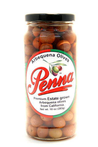 Penna Arbequena Olives - Net Wt. 10 oz.