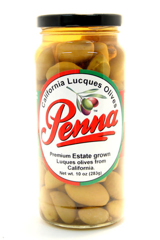 Penna California Lucques Olives - Net Wt. 10 oz.