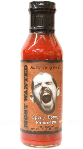 Original Juan Most Wanted Spicy Honey Habanero Wing Sauce