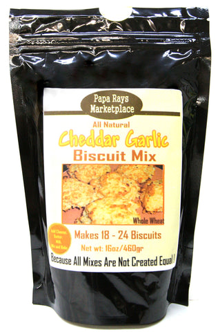 Papa Rays Marketplace Cheddar Garlic Biscuit Mix