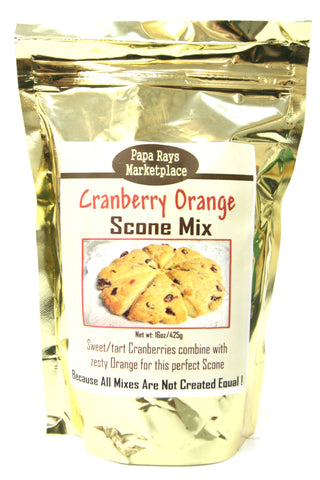 Papa Rays Marketplace Cranberry Orange Scone Mix