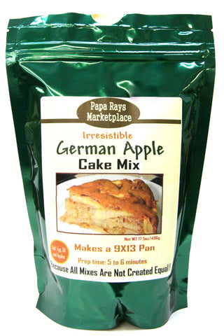 Papa Rays Marketplace German Apple Cake Mix