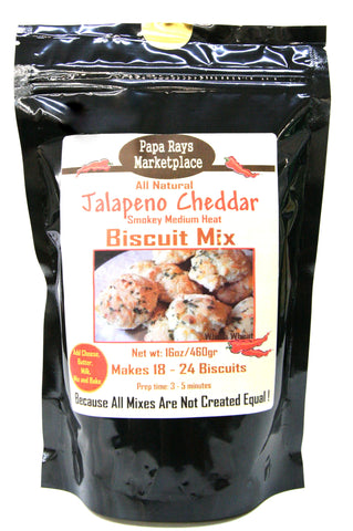 Papa Rays Marketplace Jalapeño Cheddar Biscuit Mix