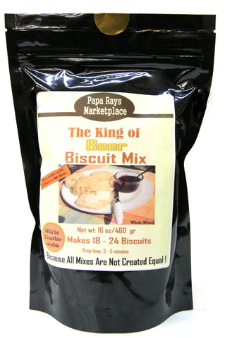 Papa Rays Marketplace The King of Beer Biscuit Mix