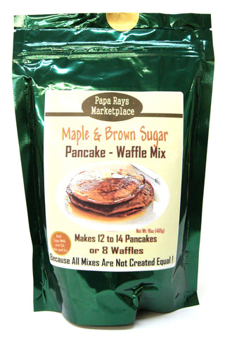 Papa Rays Marketplace Maple & Brown Sugar Pancake-Waffle Mix