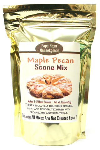 Papa Rays Marketplace Maple Pecan Scone Mix