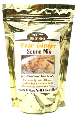 Papa Rays Marketplace Pear Ginger Scone Mix
