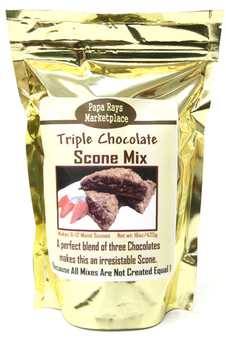 Papa Rays Marketplace Triple Chocolate Scone Mix