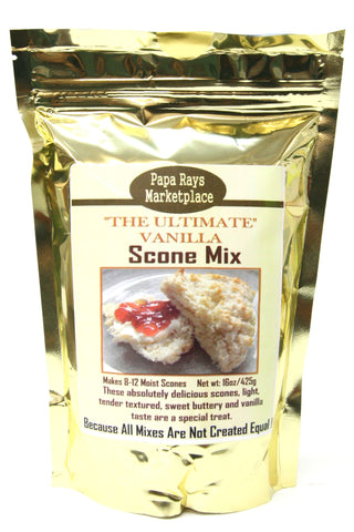 Papa Rays Marketplace The Ultimate Vanilla Scone Mix