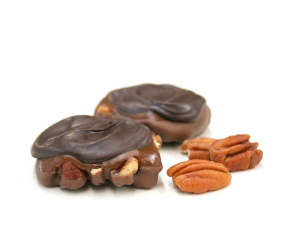 Dark Chocolate Pecan Pralines | countrymercantile