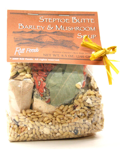 Rill Foods Steptoe Butte Barley & Mushroom Soup Mix
