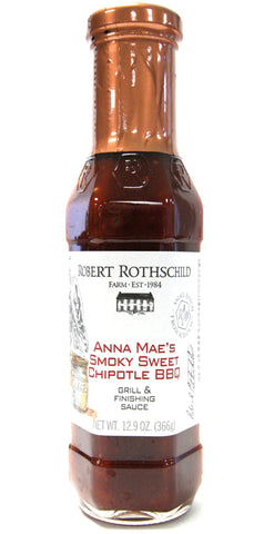 Robert Rothschild Farm Anna Mae's Smoky Sweet Chipotle BBQ Grill & Finishing Sauce