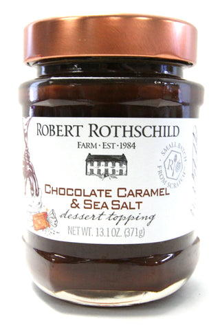 Robert Rothschild Farm Chocolate Caramel & Sea Salt Dessert Topping