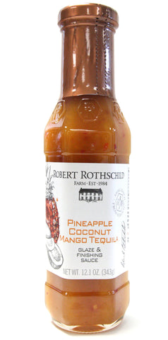 Robert Rothschild Farm Pineapple Coconut Mango Tequila Glaze & Finishing Sauce