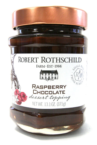 Robert Rothschild Farm Raspberry Chocolate Dessert Topping