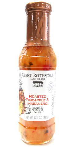 Robert Rothschild Farm Roasted Pineapple & Habanero Glaze & Finishing Sauce