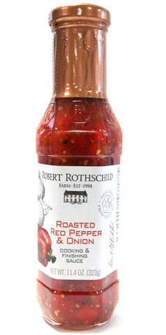 Robert Rothschild Farm Roasted Red Pepper & Onion Cooking & Finishing Sauce