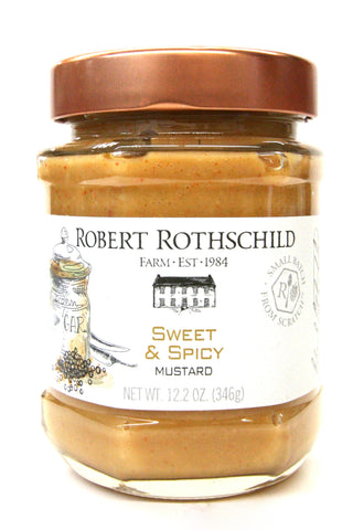 Robert Rothschild Farm Sweet & Spicy Mustard