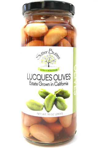 Sutter Buttes Lucques Olives