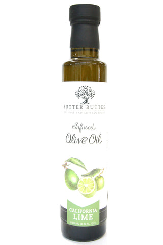 Sutter Buttes California Lime Infused Olive Oil