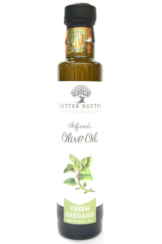 Sutter Buttes Fresh Oregano Infused Olive Oil