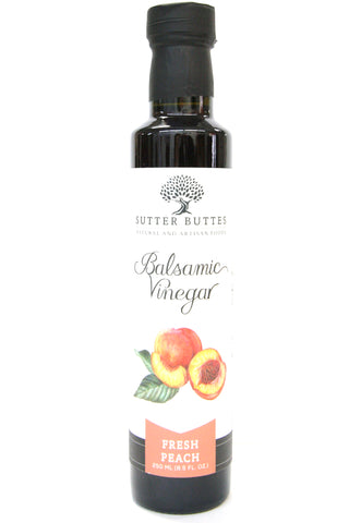 Sutter Buttes Fresh Peach Balsamic Vinegar