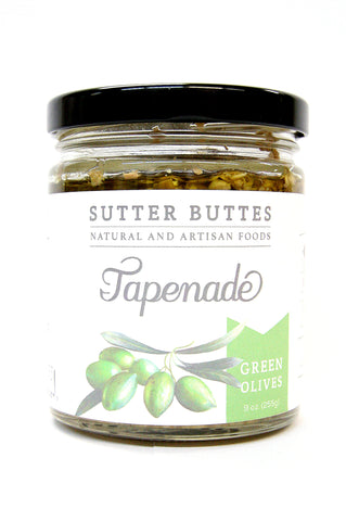 Sutter Buttes Green Olives Tapenade