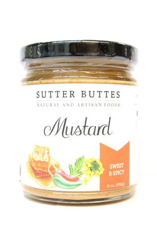 Sutter Buttes Sweet & Spicy Mustard
