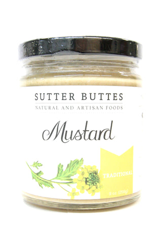 Sutter Buttes Traditional Mustard with olive oil