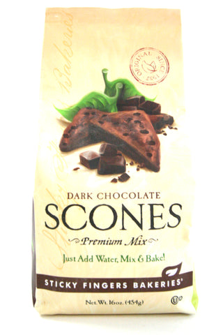 Sticky Fingers Dark Chocolate Scone Mix
