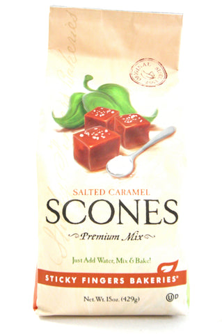 Sticky Fingers Salted Caramel Premium Scone Mix