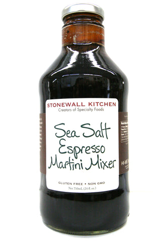 Stonewall Kitchen Sea Salt Espresso Martini Mixer
