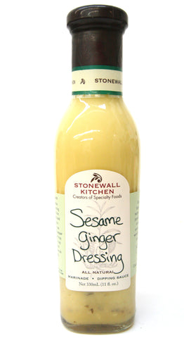 Stonewall Kitchen Sesame Ginger Dressing