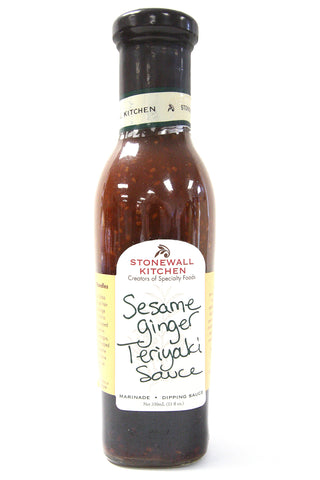 Stonewall Kitchen Sesame Ginger Teriyaki Sauce