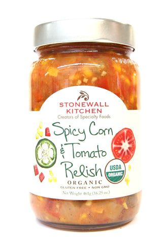 Stonewall Kitchen Spicy Corn & Tomato Relish