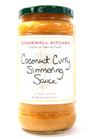 Stonewall Kitchen Coconut Curry Simmering Sauce